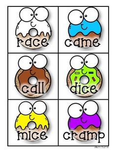 Donuts: Y as a Long Vowel Practice (Long vowel -y as /i/ or /e/) 3rd Grade Activities, 3rd Grade Math, Title One Reading, Saxon Phonics, Vowel Practice, Phonics Reading, Reading Comprehension, Nonsense Words, Cute Donuts