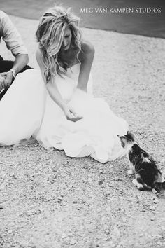 It's hard not to love this sweet picture! to do with Sorbet after the wedding