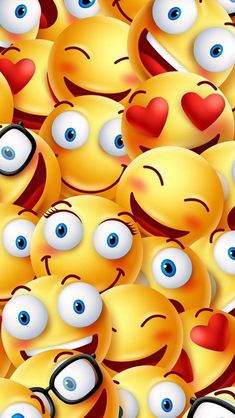Emoji wallpaper by hanymaxasy - - Free on ZEDGE™ Smile Wallpaper, Cute Emoji Wallpaper, 3d Wallpaper, Galaxy Wallpaper, Cartoon Wallpaper, Pattern Wallpaper, Phone Backgrounds, Wallpaper Backgrounds, Smiley Emoticon