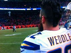 Love Eric Weddle! San Diego Chargers.