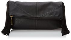 Women's Shoulder Bags - Steve Madden Bwestie Clutch Black One Size >>> Read more reviews of the product by visiting the link on the image.