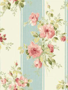 Vintage Cottage | Wallquest Wallpaper Book | Pattern #: MT 40006