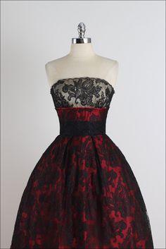 Espléndida ilusión. vestido vintage de los por millstreetvintage