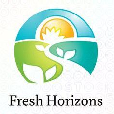 6ed36625bd8 eco fresh horizons logo logo Road Logo