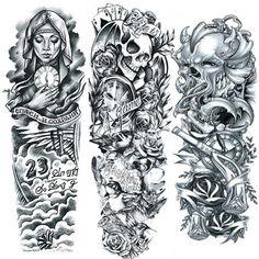 Tattoo Set - gajo! SK Dark Skin Tattoo, Tattoo Set, Art, Art Background, Kunst, Performing Arts, Art Education Resources, Artworks