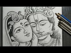 rashyatra special radha krishna drawing,how to draw lord radha & krishna,how to draw face , Krishna Painting, Krishna Art, Radha Krishna Sketch, Lord Krishna Sketch, Krishna Images, Art Drawings Sketches Simple, Pencil Art Drawings, Animal Drawings, 3d Art Drawing