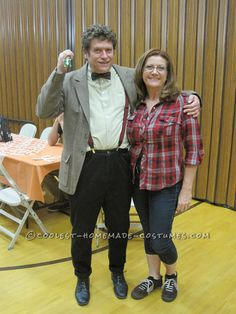 Cool Doctor Who and Amy Pond Adult Couple Costume… Coolest Halloween Costume Contest