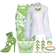 Lemon Lime by littlelinda03 on Polyvore