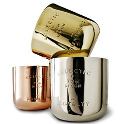 scented candles - Tom Dixon #lifestyle #metallic #candle #scented #fresh #lifestyle
