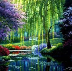 Monet's Garden in France-beautiful