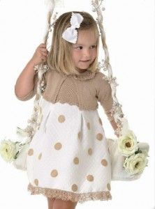 This Pin was discovered by Olg Baby Girl Fashion, Toddler Fashion, Kids Fashion, Cute Dresses, Girls Dresses, Flower Girl Dresses, Girly Outfits, Kids Outfits, Stylish Boy Clothes
