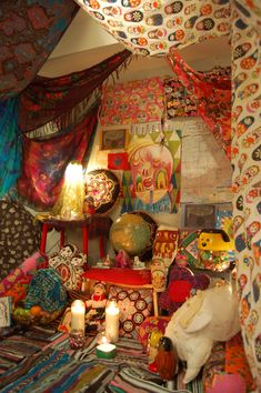 boho hippie room