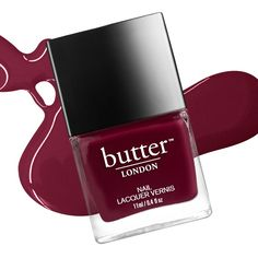 Ruby Murray, one of our favorite fall nail polish colors