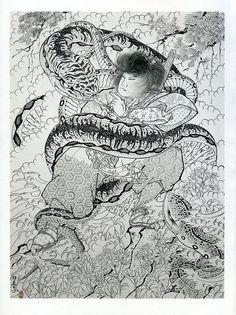Horiyoshi - Snake