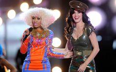 Parcerias musicais que devem bombar em 2015  Katy Perry e Nicki Minaj preparam uma novidade de peso que pretende agradar fãs de todo o mundo. A dupla vai lançar um dueto chamado Can't living seeing this. A faixa chega ao iTunes em junho e é parte de uma ação para arrecadar fundos para ajudar crianças latino-americanas. O clipe do hit tem estreia prevista para julho. Divas do pop unidas! <3