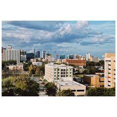 City Beautiful #cityscape #architecture #color #urban #landscape #cloudy #iphoneography #aroundorlando #vscocam