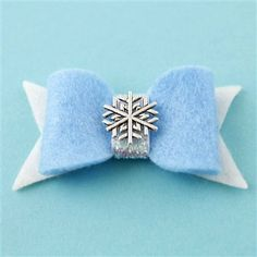 Queen Elsa Hair Bow - Spiffing Jewelry - Disney - Frozen