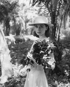 You Have to See These Rare Photos of Audrey Hepburn via @WhoWhatWear