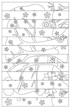 Art Drawings For Kids, Drawing For Kids, Art For Kids, Crafts For Kids, Colouring Pages, Coloring Books, Doodle Coloring, Coloring Sheets, Art Therapy Directives