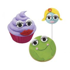 Image result for cupcake with eyes