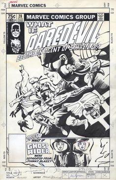 Marvel Comics Art, Marvel Comic Books, Comic Books Art, Comic Book Artists, Comic Artist, Frank Miller Art, Bristol Board, Comic Drawing, Classic Comics