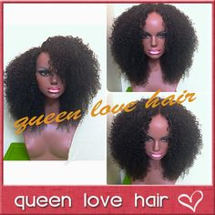 Online Shop Virgin brazilian afro kinky curly hair wig afro kinky lace front wigs & glueless full lace human hair afro wigs for black women Kinky Curly Wigs, Short Hair Wigs, Human Hair Wigs, Short Afro, Afro Wigs, Brazilian Lace Front Wigs, Brazilian Hair, Curly Hair Styles, Natural Hair Styles