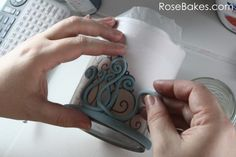 How to Make a Gum Paste Tiara (Step-by-Step Picture Tutorial)
