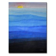 Misty Blues by Norman Wyatt Jr. Canvas Art - NW179-GWC3020