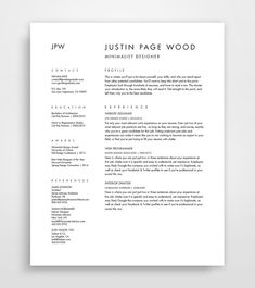 Best Selling Items, Resume and Cover Letter, CV template, Curriculum Vitae…