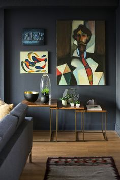 Moody Hues In An Interior By Chris Nguyen – AphroChic: Modern Global Interior Decorating