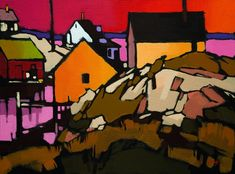 Peggy's Cove Pattern, by Mike Svob
