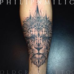 Philip Milic @pmtattoos The lion tends to...Instagram photo | Websta (Webstagram)