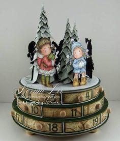 From My Craft Room: Winter Wonderland Advent Calendar - Magnolia-licious Holiday Blog Hop