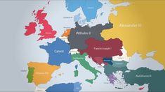 An Informative Animated Timelapse Mapping European Rulers From 400 BC Through Present Day