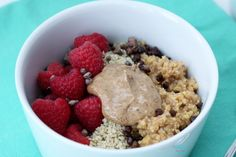 Raspberry Millet Protein Power Bowl |