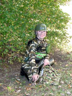 Army halloween costume