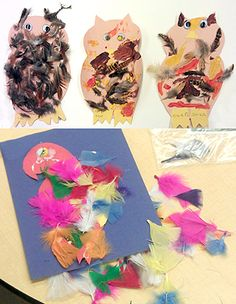 An Activity for Toddlers: Children get hands on with colorful feathers in this fun activity!