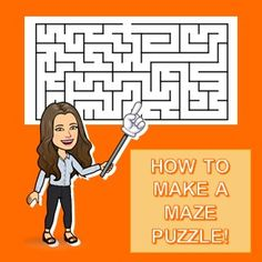 #TEACHINGTOOLS - How to Create A Maze Puzzle In Your Activity Sheets