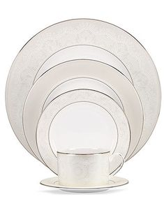 kate spade new york Chapel Hill 5 Piece Place Setting - Fine China - Dining & Entertaining - Macy's