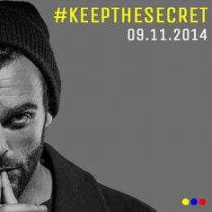 Da ora fino al 2 Novembre, partecipa al concorso #keepthesecret Puoi vincere un incontro con Marco in una location esclusiva a Roma!