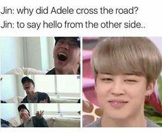 Finally Adele comes in Jins Jokes fandom