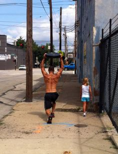 CrossFit Girls | Crossfit Girls/Do it anywhere with anyone, No excuses