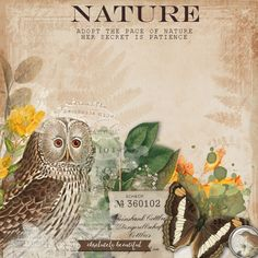 Nature #scrapbook #designerdigitals