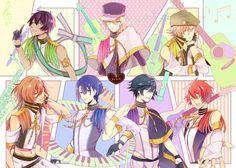 Uta no Prince Sama ♪♫•*¨*•.¸¸❤¸¸.•*¨*•♫♪ Starish #Otome #Anime #Game