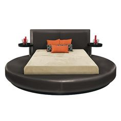 Round Queen Bed