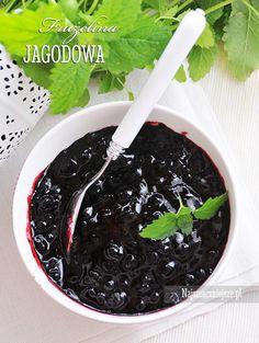 Domowa frużelina jagodowa Blackberry, Pickles, Fruit, Food, Blackberries, Meal, The Fruit, Eten, Meals