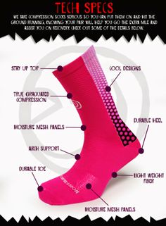 Run.Walk.FASTPASS.Repeat.: Crazy Compression Socks Review and Giveaway!