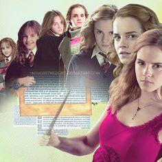 Hermione Granger Evolution.    She is my favorite..