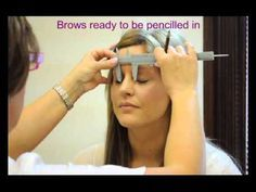 This Video visually demonstrate usage of PhiBrows divider. Process consists of 10 steps and its applied on left and right eyebrow.