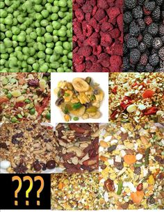 Pick your Menu Value Package  Now with more options! A great way to try new items, provide a very healthy diet and save money! We have selected a group of parrot/bird foods that are full of nutrition. Try a new one each visit!  Follow the option tabs (below) and pick your own custom menu!!  Comes with a FREE surprise gift! Feel free to hint around as to what your bird likes.